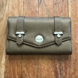 SALE! 5/$25 Kenneth Cole Reaction 8x4 Gold Wallet